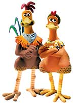 Picture from the film Chicken Run