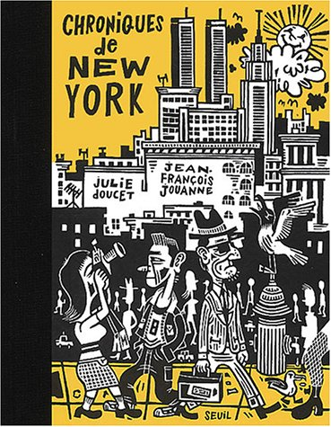Cover of the book Chroniques de New York