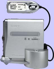 A sony Hi-MD walkman