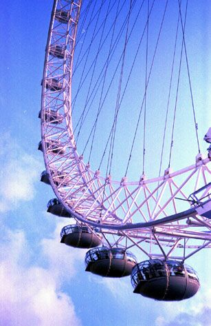 Picture of The London Eye (Millenium Wheel) in London