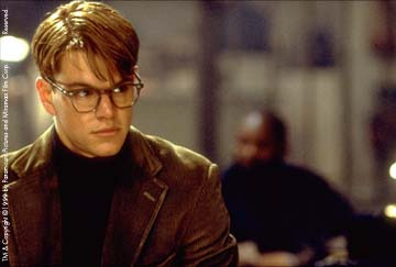 Picture from the film The Talented Mr Ripley